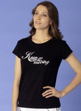 "Shirt  ""Keep on Moving"""