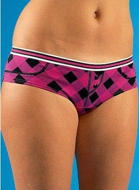 Panty a quadri, 3pz per colore