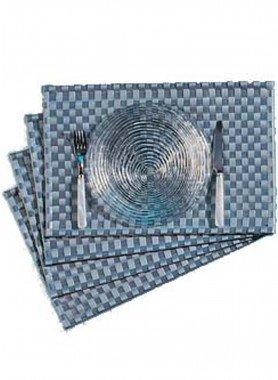 Tisch-Set K.stoff,4 st.grau - 1 - Ronja.ch