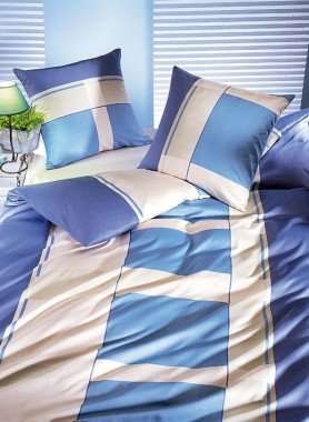 "Biancheria da letto in satin  ""KANSAS"""