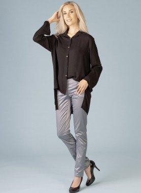 Pantalone in satin