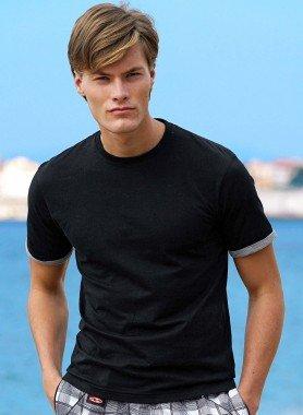Shirt, maniche corte con risvolto