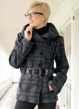 Giacca look lana