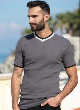 Kurzam-Shirt, Rippstruktur