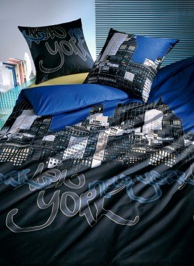 Parure da letto  «SKYLINE NEW YORK»