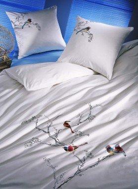 "Biancheria da letto in satin ""BIRDS"""