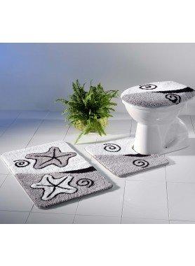 Garnitura per bagno/WC  *Seestern*  con  taglio