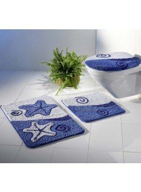 Garnitura per bagno/WC *Seestern* senza taglio