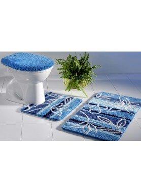 Garnitura per bagno/WC   *BLUMEN*  con taglio