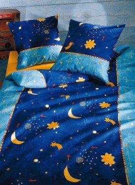 Biancheria da letto in flanella Cielo stellato