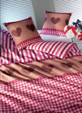 """Biancheria da letto in flanella  """"ALPENHERZ"""""""