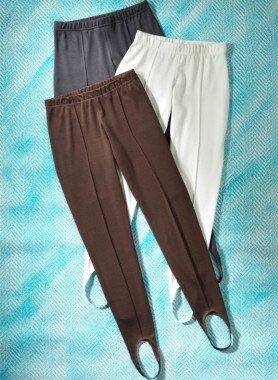 Pantaloni con staffa