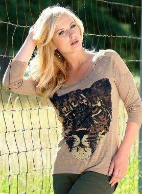 Shirt, stampa tigre