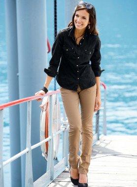 Pantalone 5-Tasche, cintura inclusa