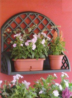 Ripiani per fiori a parete