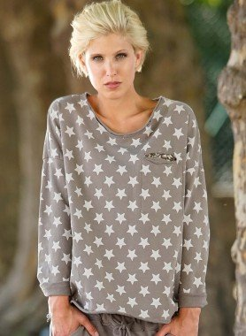 Sweat-Shirt,  stelle