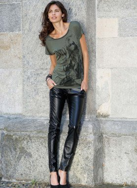 D-Jeans,Mix Im.Leder Black-Den 34 010 - 1 - Ronja.ch