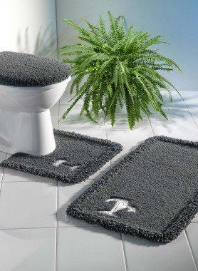 """Garnitura bagno/WC  """"Palma""""  con taglio"""