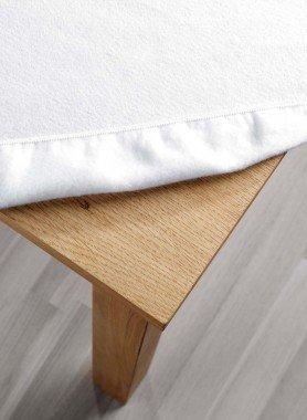 Tisch-Fixmolton,weiss 120x160 - 1 - Ronja.ch