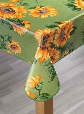 Tisch.Sonnenblume.grün 140x180 - 1 - Ronja.ch
