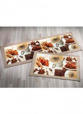 Küchen-Al.Teppich Kaffee 50x80 - 1 - Ronja.ch