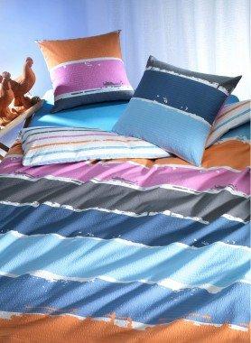 Biancheria da letto in seersucker  «ACQUARELL»