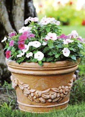 Blumen-Topf,antik 29cm - 1 - Ronja.ch