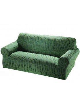 Schonbezug,2er Sofa grün - 1 - Ronja.ch
