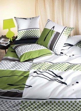 Biancheria da letto in seersucker «MICHEL»