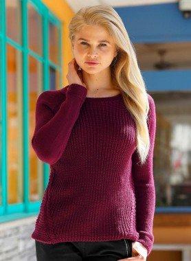 Pullover, maglia  a coste