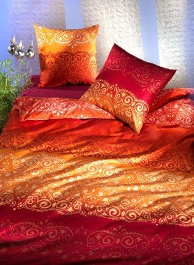 Biancheria da letto in satin  «KANTIPUR»