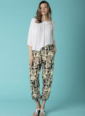 Pantalone, stampa Ethno