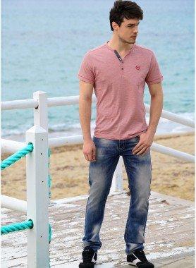 5-Pocket-Jeans, Ziernähte