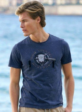 "Shirt maniche corte  ""Rubber-Print"""