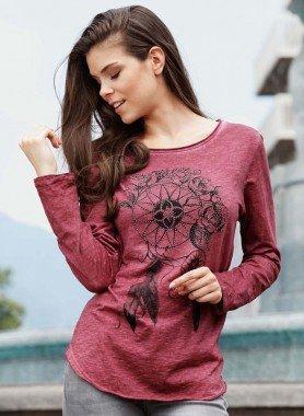 Shirt , print stile Indiano