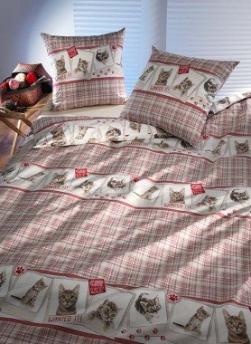 """Biancheria da letto  """"CATS"""""""
