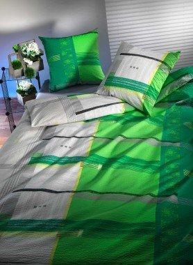 """Biancheria da letto in seersucker  """"LUNAIRE"""""""