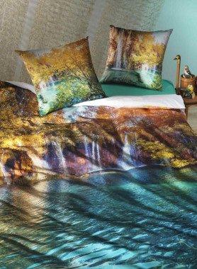 "Biancheria da letto,  stampa digitale ""MAGIC-FOREST"""