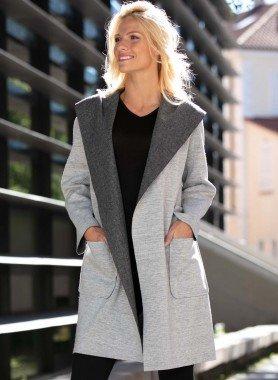 Giacca / cappotto con cappuccio