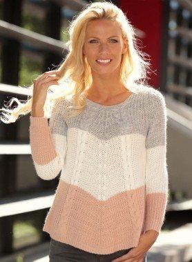 Pullover a maglia grossa