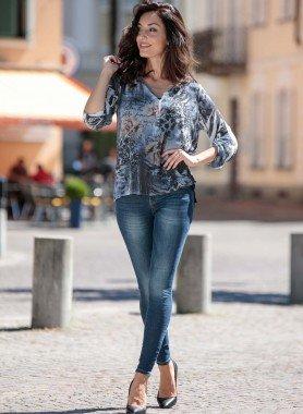 5-Pocket-Jeans, Röhrliform