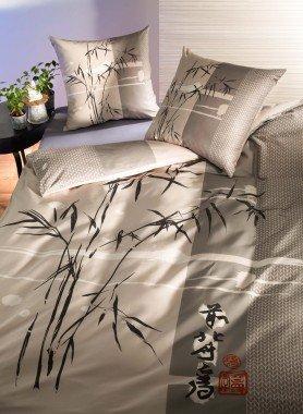 """Biancheria da letto in satin molto fine """"TETSUYA"""""""