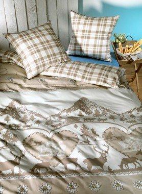 "Biancheria da letto in flanella ""MATTERHORN"""
