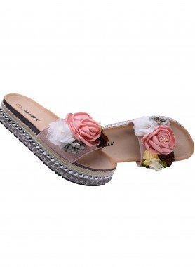 Sandalo con fiori