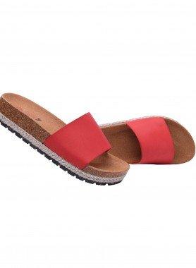 Sandalo con fascia larga