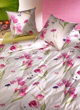 """Biancheria da letto in fibra di bambù """"FLORAISON"""""""