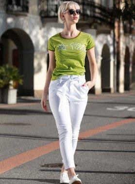 Pantalone, cerniera e cintura