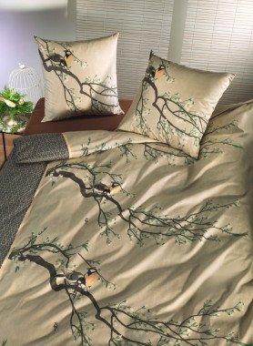 "Biancheria da letto in fibre di bambù ""BIRDS-SPRING"""