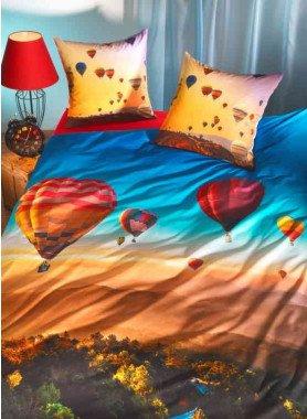 """Biancheria da letto, stampa digitale """"BALLON"""""""