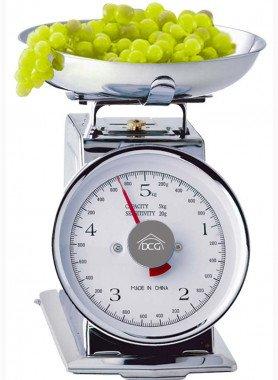 Bilancia da cucina mecanica,  5 kg.